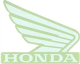 東洋マーク HONDA バイクエンブレムステッカー ホワイト 78×64(mm) R-342