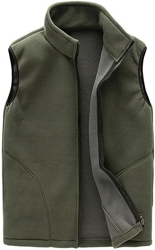 Men Casual Zip Casual Vest Spring Male Waistcoat Autumn Sleeveless Outdoor