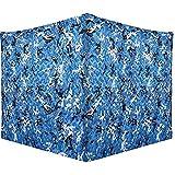 QI-CHE-YI Neto de Sombra de Camuflaje, Impermeable, toldo al Aire Libre para la Playa, decoración de Escena al Aire Libre,3x5m