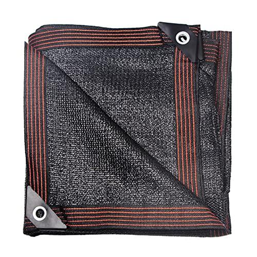 WANGYE369 95% Sombra Solar,12 Pines,Malla Red Resistente a UV Bloqueador Solar Sombra Paño,Red de Sombra,Velas de Sombra para Patio,Toldo Parasol Camping(5m*12m/16 * 39ft)