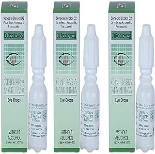 Dr. Reckeweg Cineraria Maritima Eye Drops 10ml (Pack of 3)