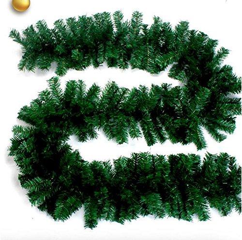 GYH Arbre de Vigne de Noël - Décoration de fenêtre de Noël pour hôtel /& (Couleur : Green)