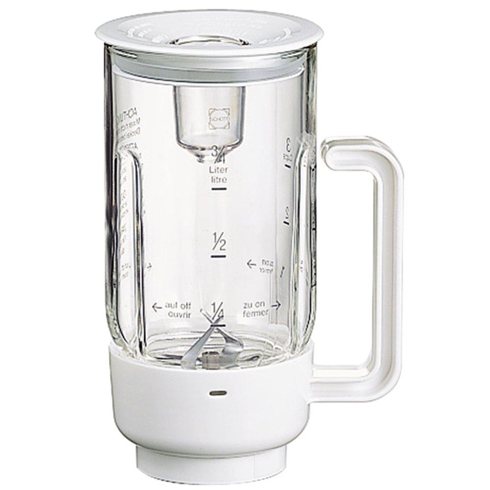 Licuadora de vidrio MUZ4MX3 accesorios opcionales para robot de cocina MUM 4...: Amazon.es
