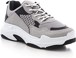Smoked Saks Male Sneaker (41, Grey 2)