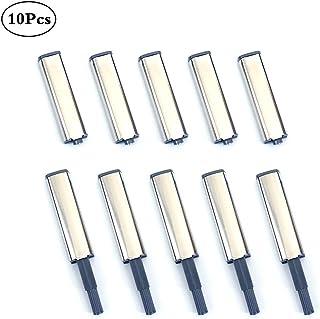 Concisea 10Pcs Open System Damper Buffer Cierres Magnéticos Amortiguadores Magnéticos para Puerta de Armario Cocina Push To