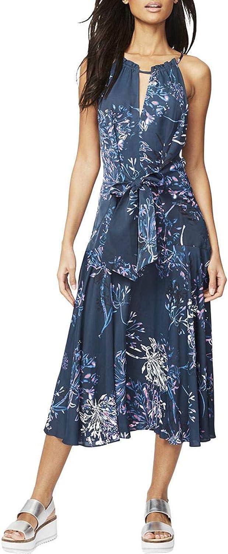 Rachel Roy Womens Claudette Midi Dress