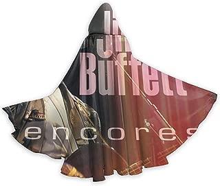 JoyceMHunter Jimmy Buffett Encores CapeHalloween Costume Masquerade Cloak,Adult Halloween Cloak,Halloween Cape