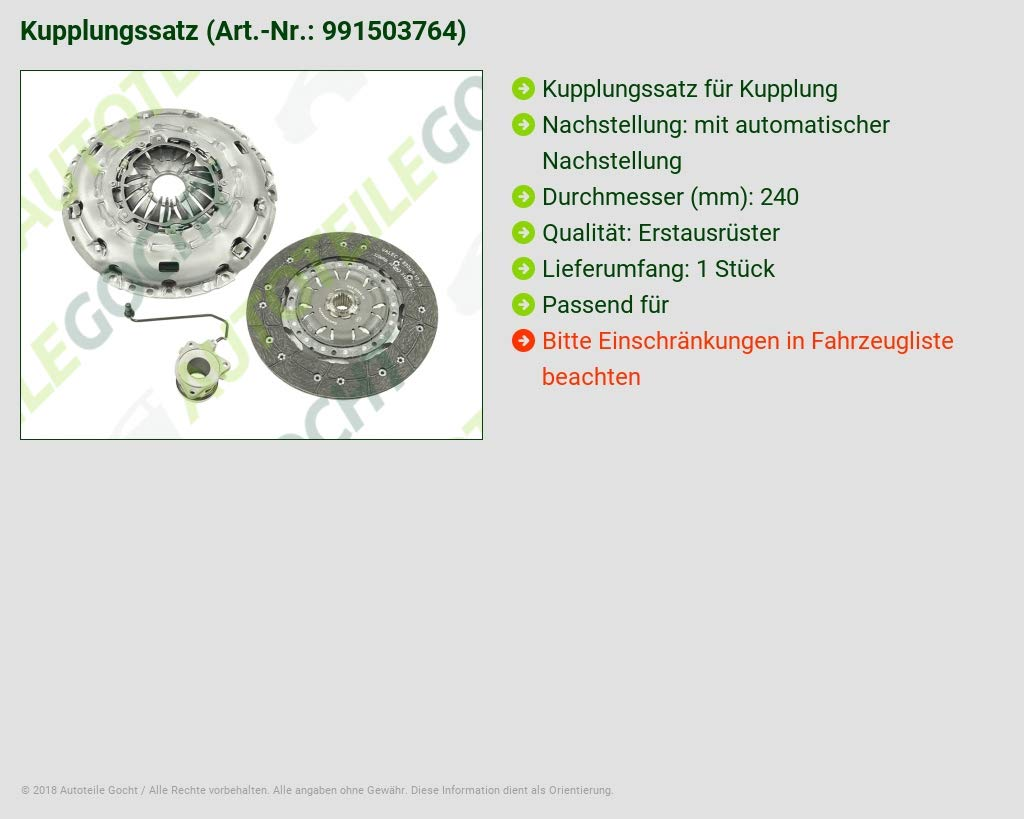 LuK Kupplungssatz Kupplung Kit für Opel Zafira B Astra H GTC Vectra C 1.9 CDTI