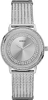 Guess Dress Watch for Women - Analog / Silver Metal -w0836l2