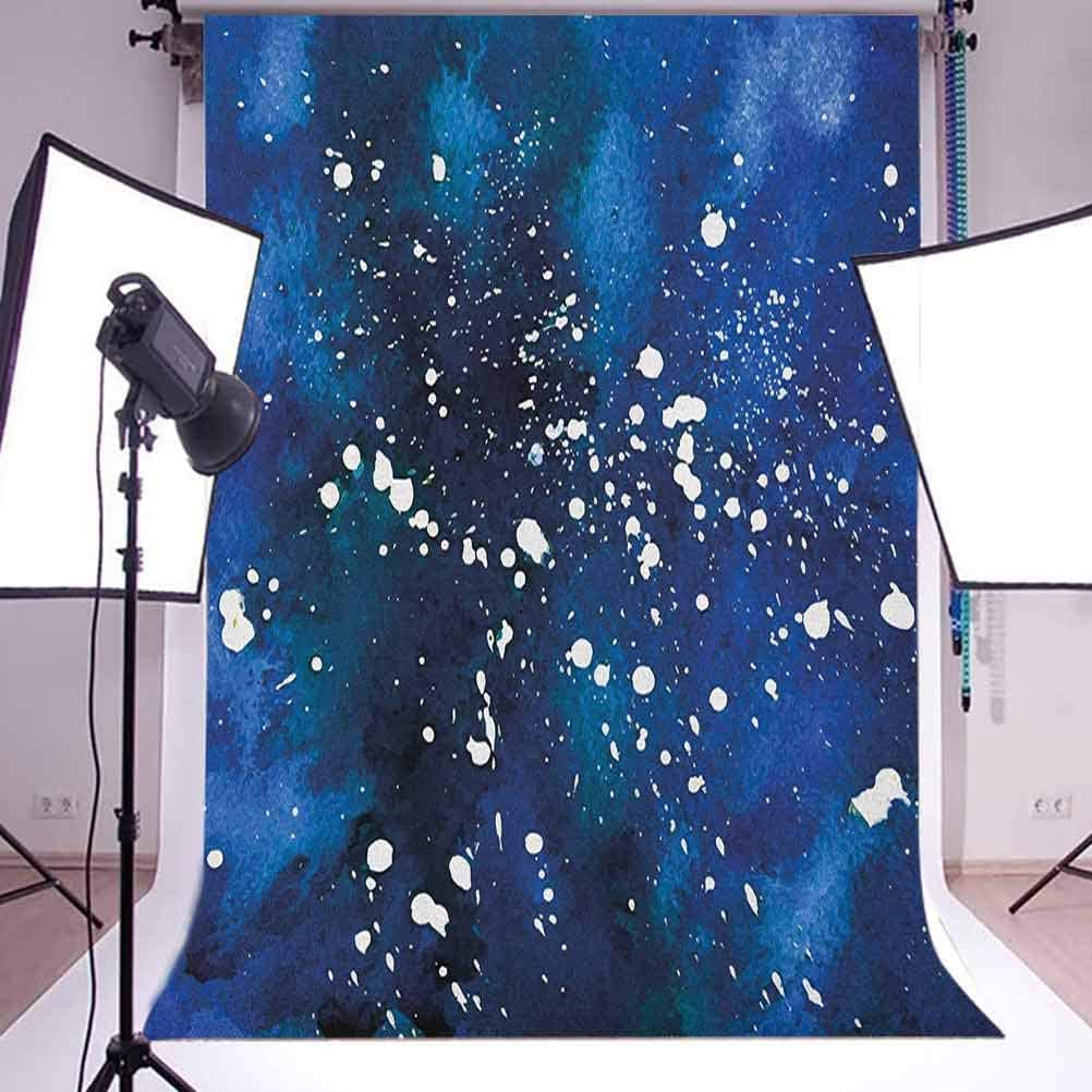 8x12 FT Vinyl Photography Background Backdrops,Geometrical Futuristic Composition with Triangular Figures Fractal Mosaic Form Background for Child Baby Shower Photo Studio Prop Photobooth Photoshoot