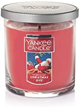 Yankee Candle Small Tumbler Jar Christmas Eve Scented Premium Paraffin Grade Candle Wax with up to 55 Hour Burn Time