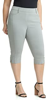 Rekucci Women's Ease in to Comfort Curvy Fit Plus Size...