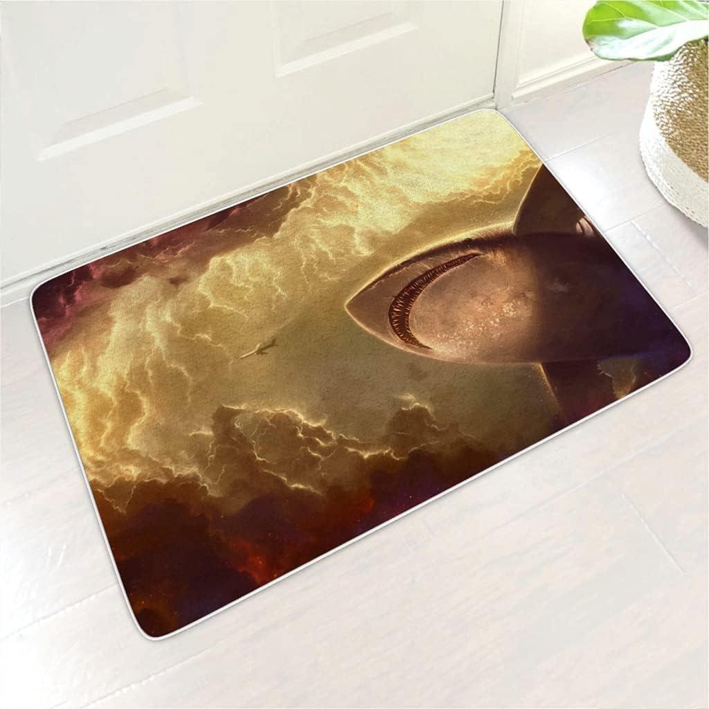 Sales of SALE items from new works KASTLEE Fantasy Giant Shark Sky Clouds Print Floor Selling rankings Abs Mat Water