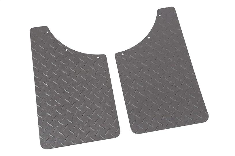 Dee Zee DZ1808TB Texture Black-Tread Universal Mud Flaps