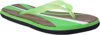 HD Men's Green Flip-Flops and House Slippers