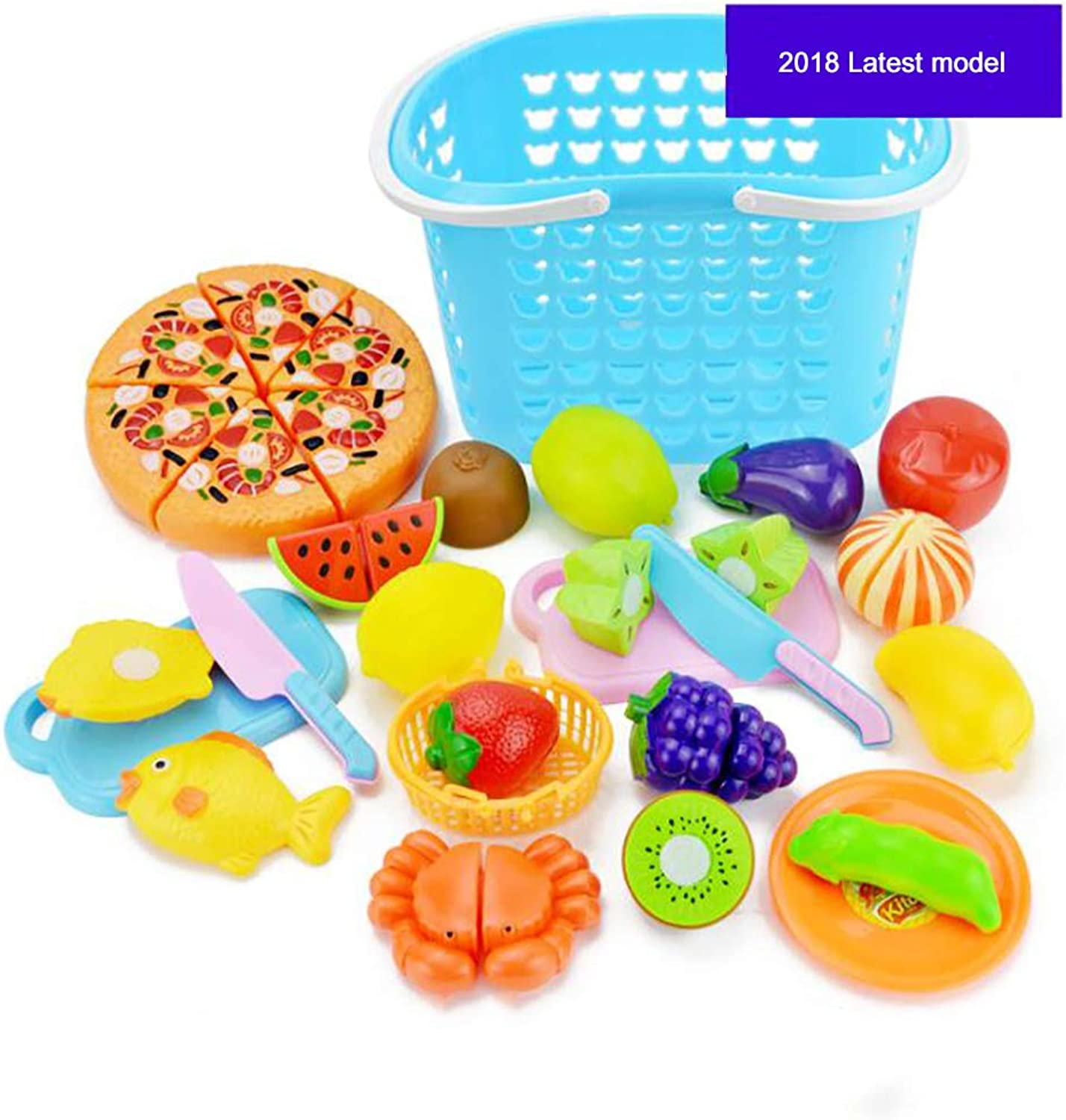 Kids Toys Age 38 Boys and Girls Simulation Cut Fruit Game  Cultivate Handson Ability Toys  27 Piece Set