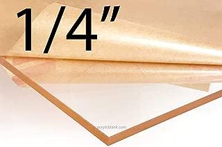 Acrylicblank Clear Acrylic Sheet Sign Blank (5