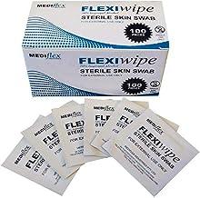Alcohol Swabs, 65 x 30mm, Medical Swab Individually wrapped 100pcs/ Box