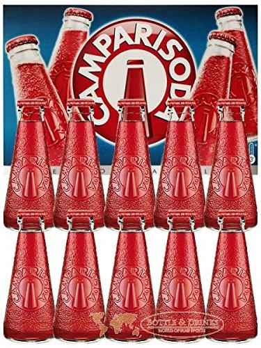 Campari Soda aus Italien 10 x 9,8 cl
