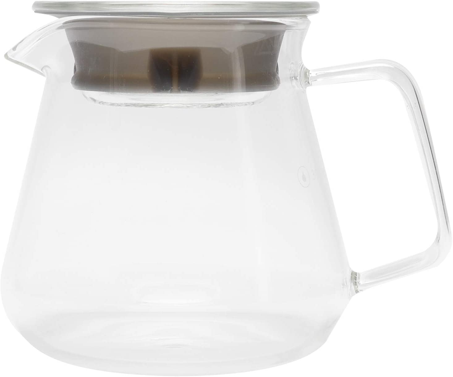 half Glass Coffee Make Pour Maker Daily bargain sale Kettle Over Pot