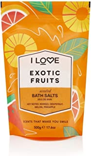 I love Bath Salts, Exotic Fruit - 500 g