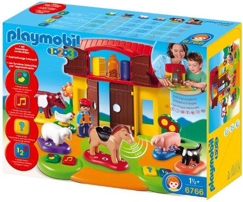 Playmobil 6766 - Interaktiver 1.2.3-Bauernhof