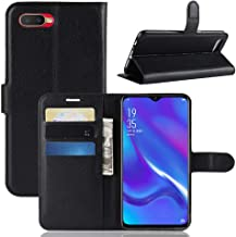 ZCHENG Wallet case Stand Cover for Oppo K1/RX17 Neo, Leather ID Credit Card Slot Bracket Flip Cover Case for Oppo K1/RX17 ...