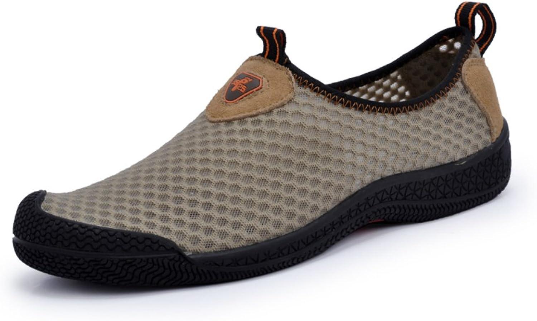 Sommar med mode, friskt, friskt, friskt, ledigt att andas, fritidsbåtar glider på nätmaskor Lätt viktgående skor  bästa mode