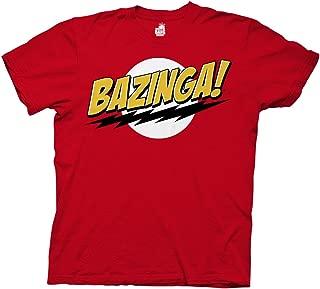 Big Bang Theory Bazinga Adult T-Shirt