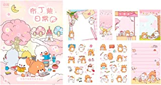 Doraking 250Sheets Cute Cartoon Dog Memo Notes Writing Pads Scrapbook Decorations TODO List for Planning with 2 Sheets Dec...