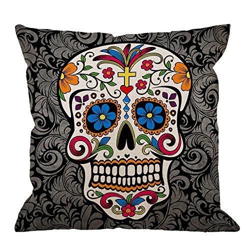Sugar Skull Pillow Cases