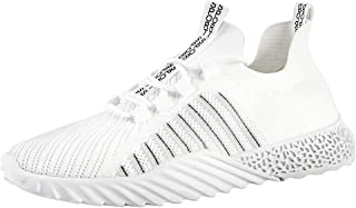 Lailailaily Trend Summer Men's Hollow Mesh Breathable Sneakers Non-Slip Wear-Resistant Sneakers