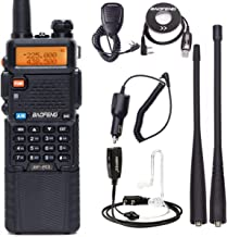 BaoFeng BF-R3 Tri-Band 136-174/220-260/400-520Mhz with 2 Antennas 3800mAh Battery Amatuer Portable UV-5R Transmitter Two Way Radio with USB Programming Cable and Speaker,Car Charger and Earpiece