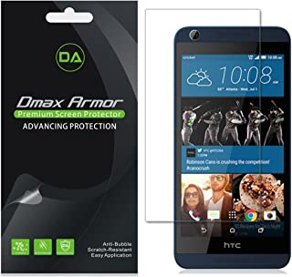 [6-Pack] Dmax Armor for HTC Desire 626 626s Screen Protector Anti-Glare & Anti-Fingerprint (Matte) Screen Protector