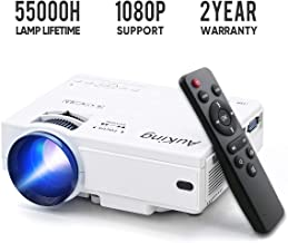 Mini Projector 2019 Upgraded Portable Video-Projector,55000 Hours Multimedia Home Theater..