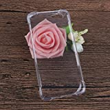 GOGODOG Elephone S7 Case Full Cover Ultra Thin Anti Slip Creative Simple Scratch Resistant Anti Fall Frosted Slim Soft Shell TPU Crystal Clear Bumper Back Cover (Transparent)