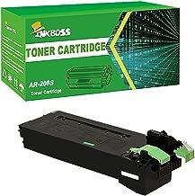 INKBOSS AR-208S Toner Compatible for Sharp AR-208S/208D Multifunction Copier Printer Toner Cartridge,8,000 Yields(Black,1Pack)