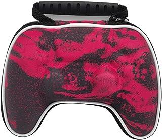 ciriQQ Funda protectora rígida con asa a prueba de golpes, con cremallera, portátil, para consola S-o-n-y PlayStation 5, p...
