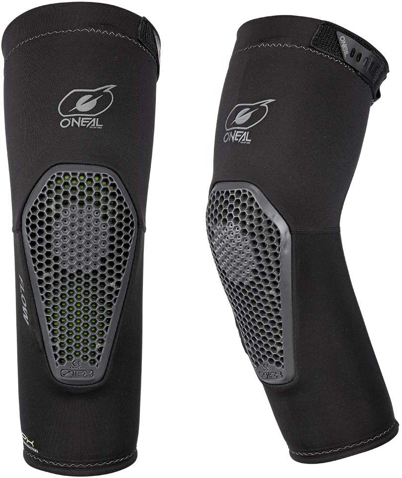 Oneal Flow Knee Guards S//M Black Green 0259-002