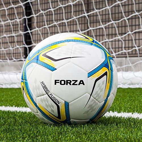 FORZA Balón de Fútbol Astro   Balones Astro para Campos de Hierba Artificial (Variedad de Tamaños) (Tamaño 4, Pack de 3)