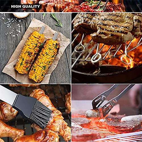 61HvSdp5xDS. SL500  - DXDHUB 21pcs / Set Grillzubehör, Edelstahl BBQ-Werkzeuge Set, Camping-Grilllieferungen Im Freien Komplettset