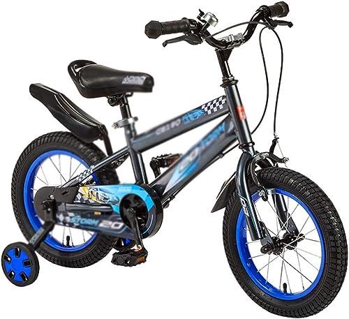 servicio honesto Bicicleta para Niños Niños Niños 2-3-4-4 años de Edad, Bicicleta Masculina y Femenina, Cochecito de bebé de Montaña (Color   azul, Talla   12INCH)  más descuento