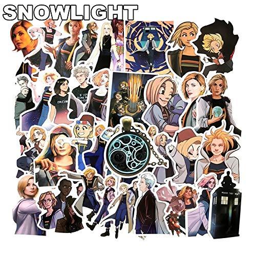 Neue 50 Stück Doctor Who Tardis Aufkleber Sets Anime Aufkleber Lot Für Laptop Fahrrad Telefon Gitarre Marvel Cartoon Aufkleber Pack