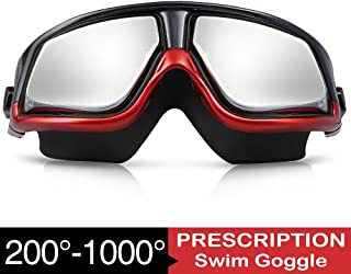 3f575b6823 Amazon.com  Prescription Swimming Goggles