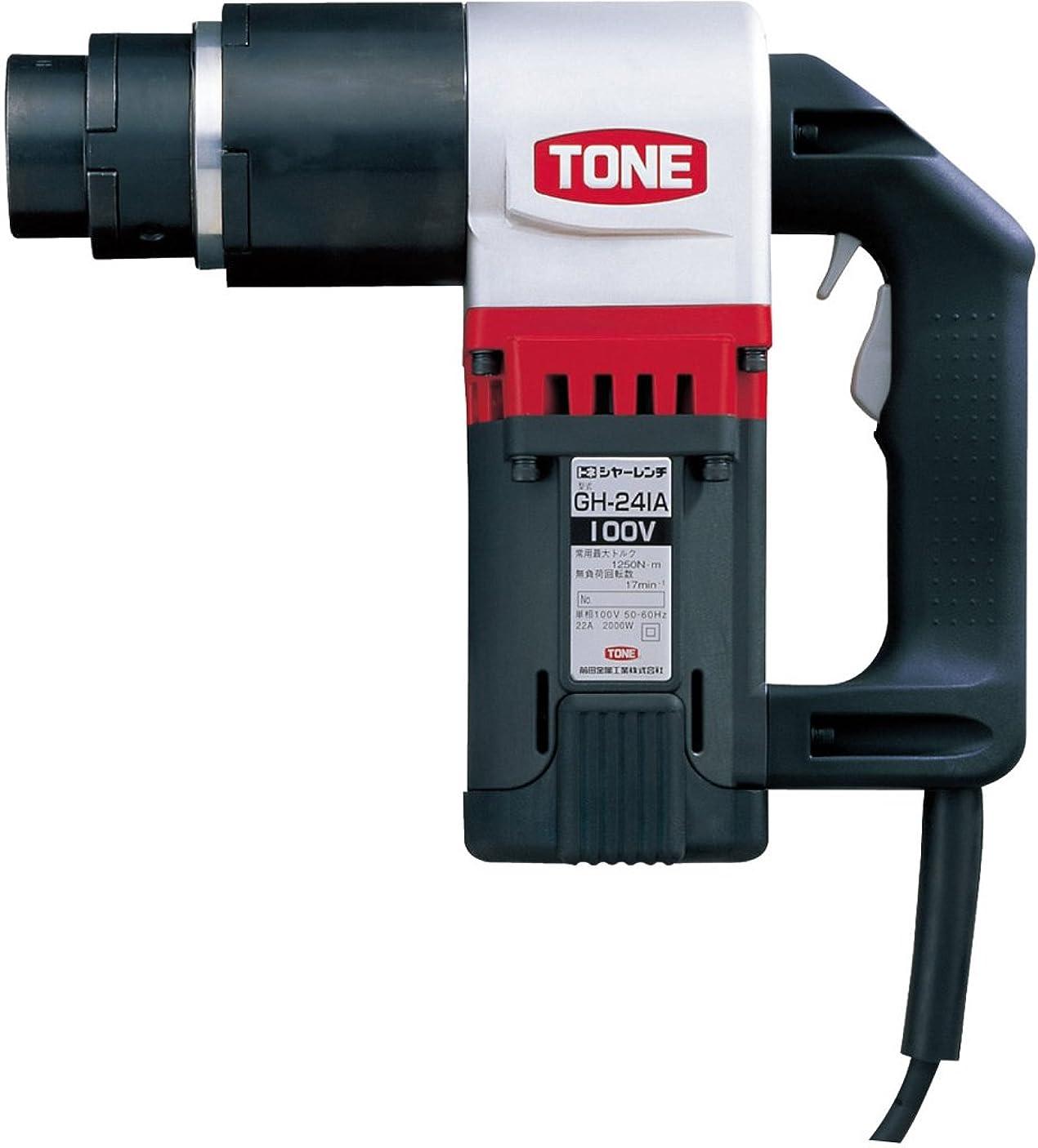 音楽直感簡潔なトネ(TONE) M24シヤーレンチ GH241AT 高力M20~M24 超高力M20~M24 100V ブラック