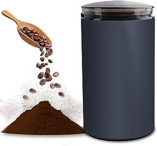 電動コーヒーミル コーヒーグラインダー ミルミキサー 粉末 コーヒー豆 ひき機 水洗い可能 豆挽き/緑茶/山椒/お米/調味料/穀物を挽く 一台多役 掃除ブラシ付 お手入れ簡単 高性能ミル(M150A)