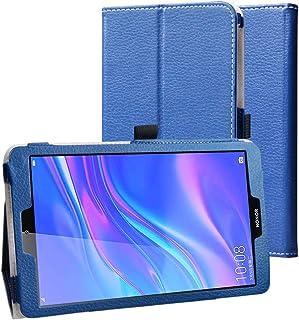Huawei 8.0インチ MediaPad M5 Lite ケース MaKstu MediaPad M5 Lite Touch タブレット柔軟PUレザー 軽量 カバー 二つ折りスタンド機能付き 薄型 全面保護 キズ防止 タブレットPCケース(...