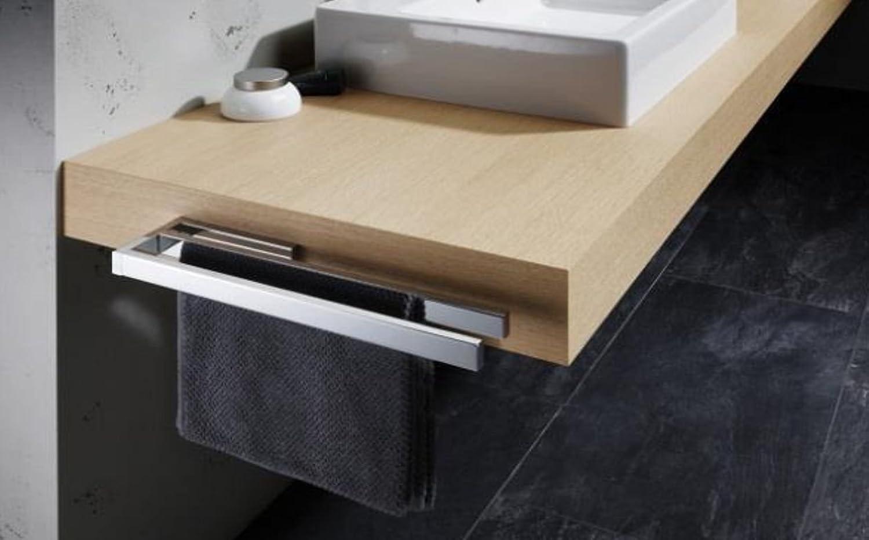 Avenarius Handtuchhalter für Badmbel zweiarmig 39 cm Messing verchromt