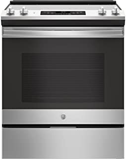 Best slide in electric stove with downdraft Reviews