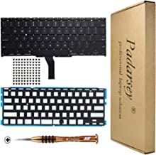 Padarsey New Laptop Black US Backlit Backlight Keyboard Compatible for MacBook Air A1370 A1465 11-Inch 2011 2012 2013 2014 2015 MD711 MD712 MD223 MD224 MC968 MC969 with 80 PCE Screws+Screwdriver